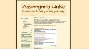The new Asperger's Links site