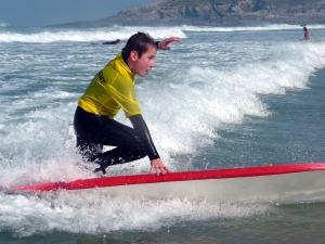 Surfing with The wave Project