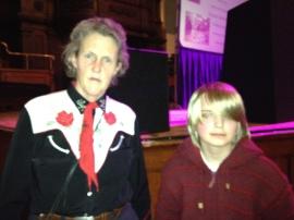 Dr Temple Grandin & Son2