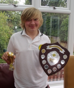 Youngest  winning Chairman's Player of the Year for 2012